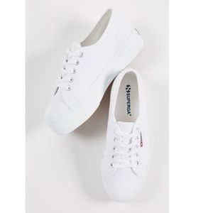 Superga 2790 White Platform Sneakers 6
